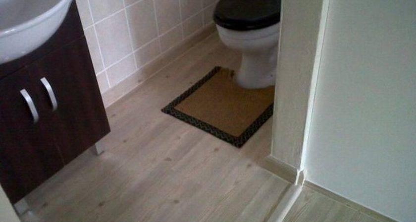Bathroom Dark Hardwood Floors These
