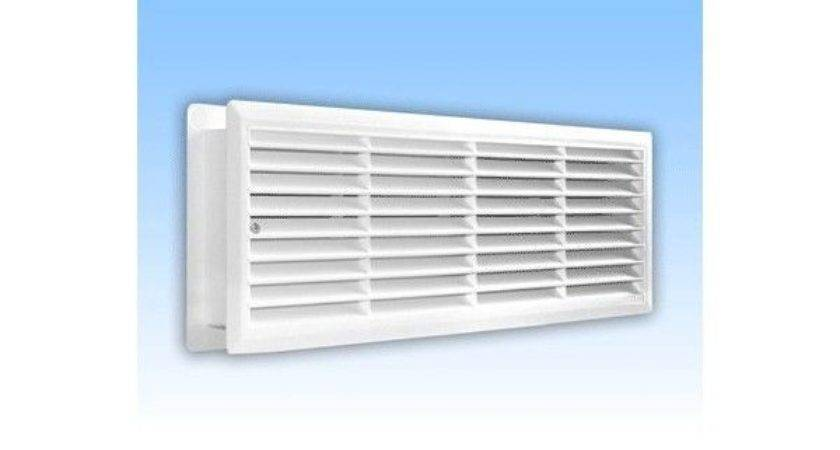 Bathroom Door Air Vent Grille Two Sided
