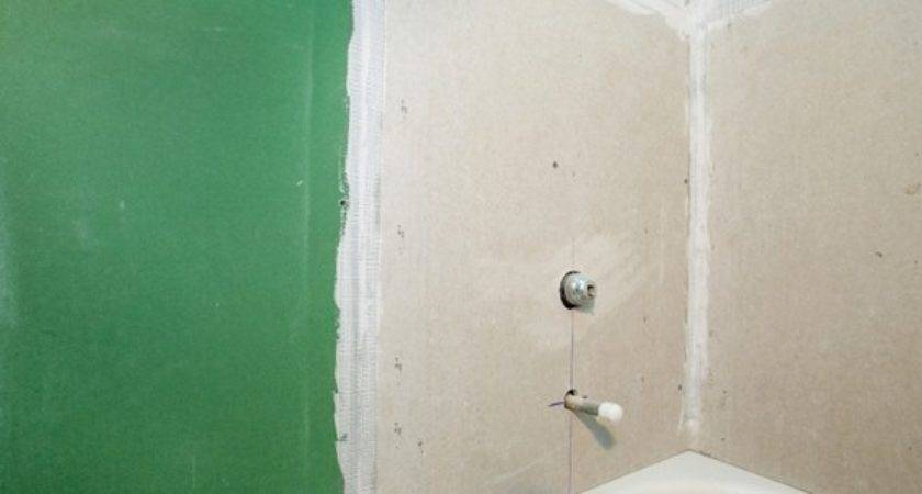 Bathroom Drywall Installation Doityourself