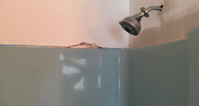 Bathroom Drywall Water Damage Repairs Castle Complements