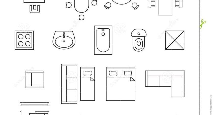 Bathroom Floor Plan Symbols Design