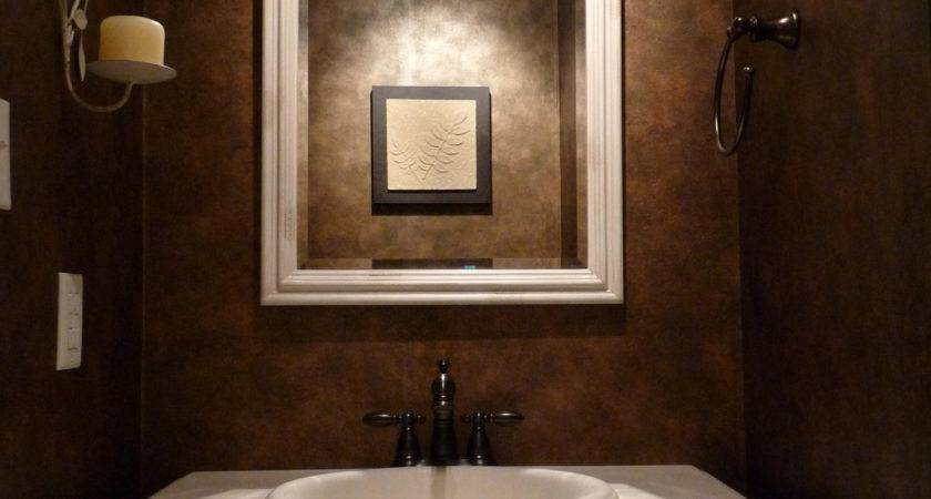 Bathroom Grasscloth