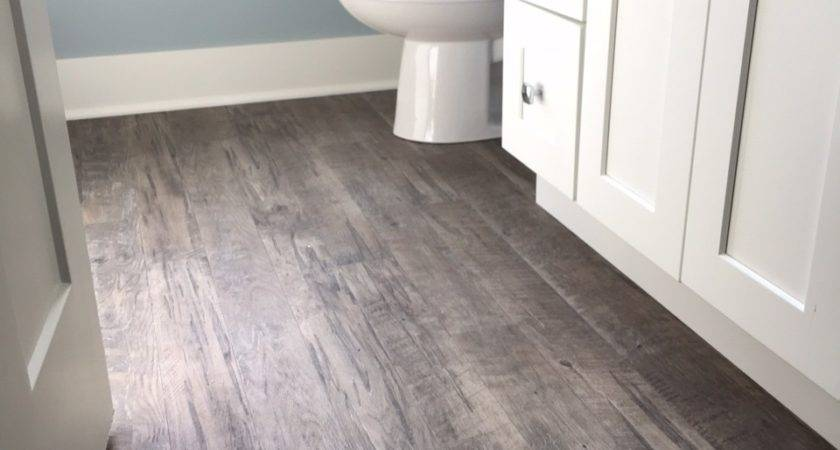 Bathroom Hardwood Floor Wood Look Tiles Interior Designs