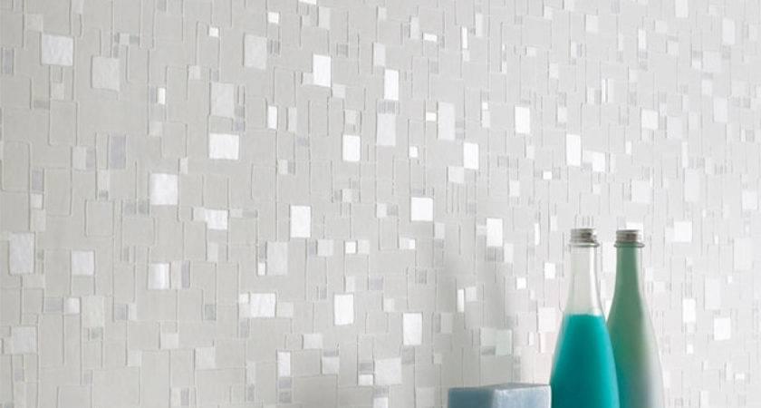 Bathroom Modern Grasscloth