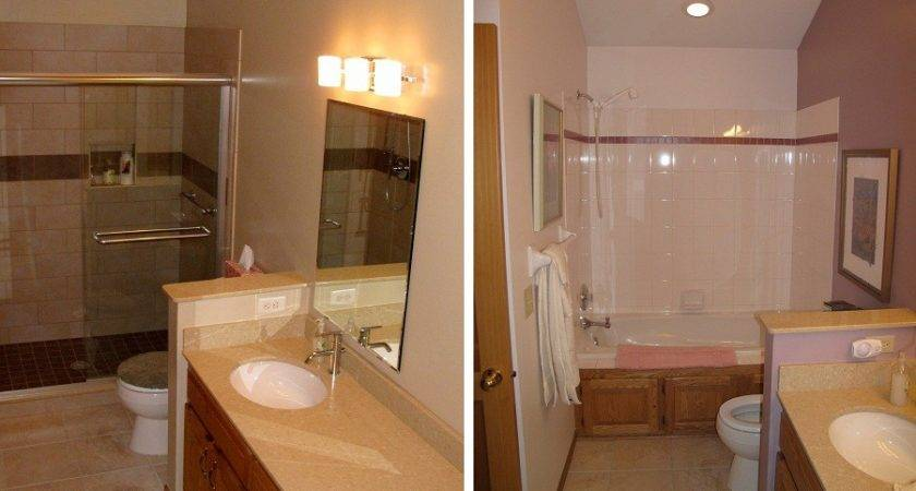 Bathroom Outstanding Remodel Before After