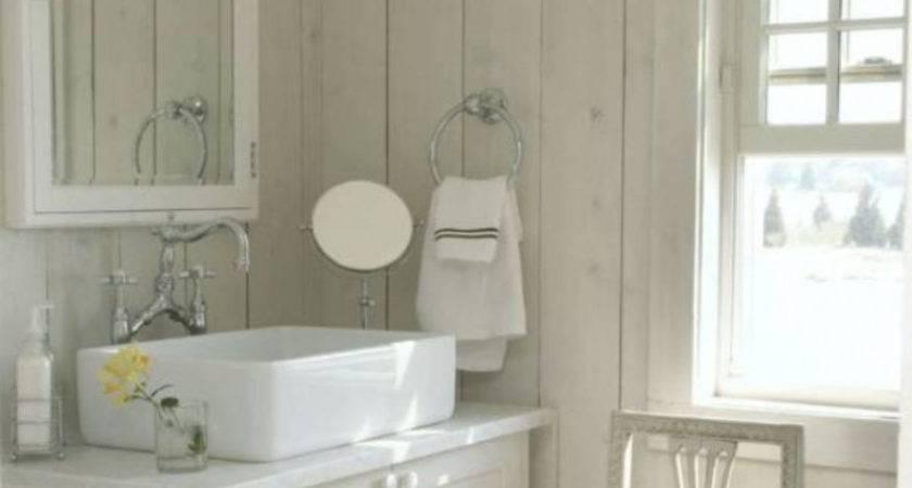 Bathroom Paneling Looks Like Tile