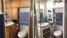 Bathroom Redo Campers Pinterest