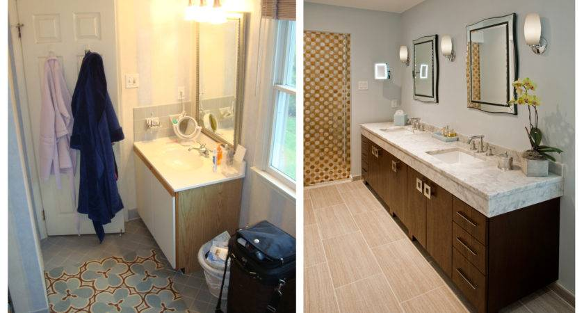 Bathroom Remodel Before After Bestofpicture