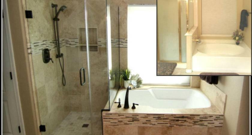 Bathroom Remodels Before After Concepts Underlying