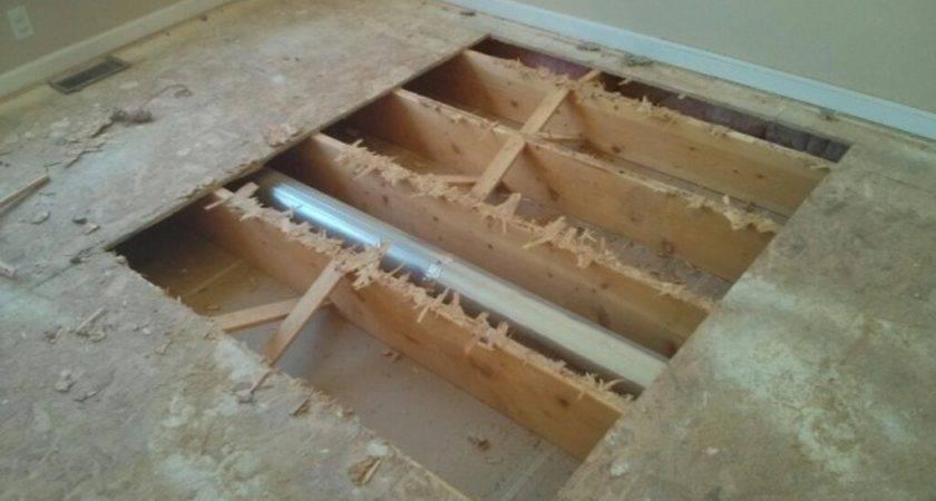 Bathroom Replacing Subfloor Your House
