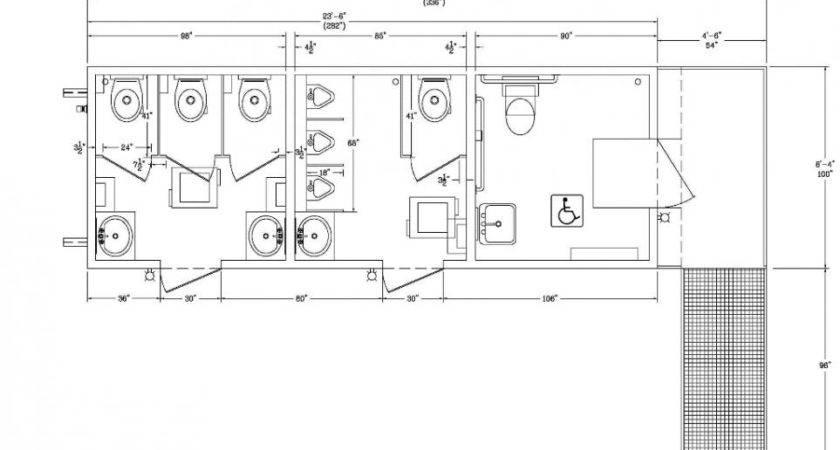 Bathroom Standard Stall Contemporary