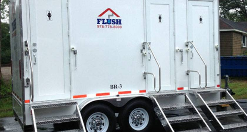 Bathroom Trailer Rentals Flush Services Portable