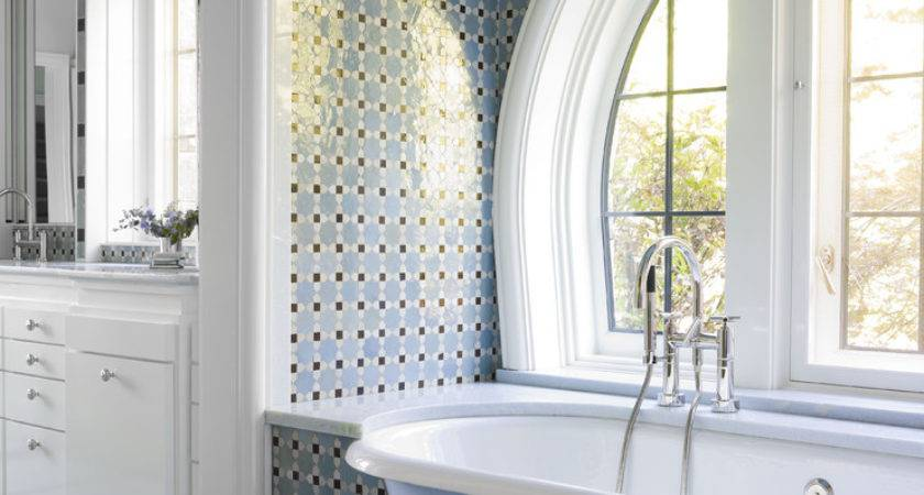Bathroom Tub Tile Ideas Traditional Alcove