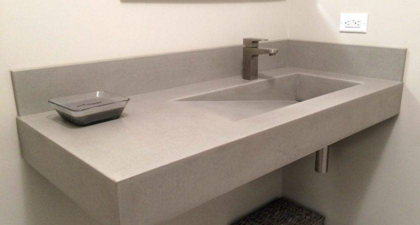 Bathroom Undermount Trough Sink Likable Utility