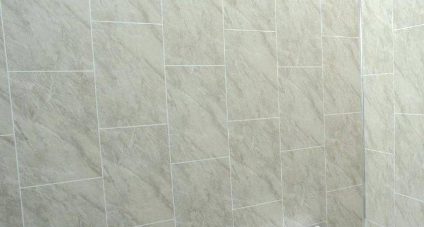 Bathroom Vinyl Wall Cladding White Sparkle Diamond