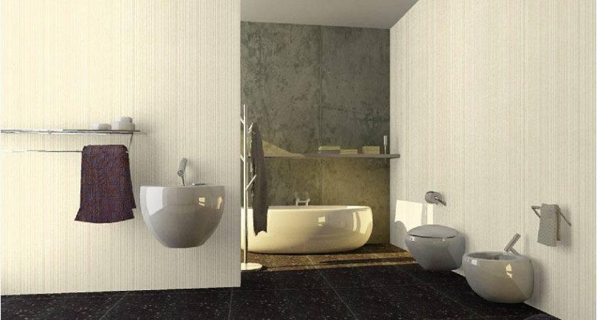 Bathroom Vinyl Wall Covering Moda