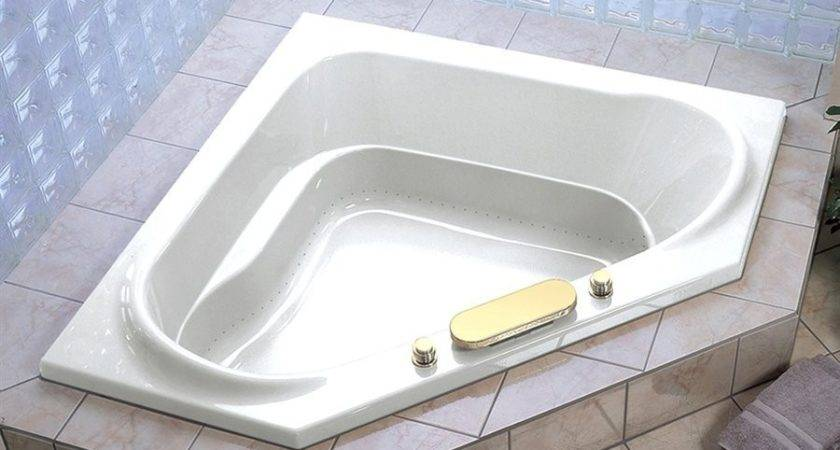 Bathtubs Idea Awesome Corner Tub Garden