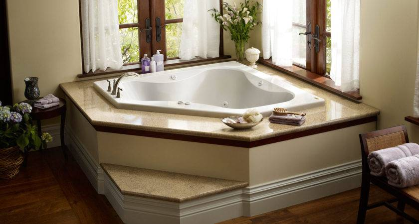 Bathtubs Idea Inspiring Corner Whirlpool