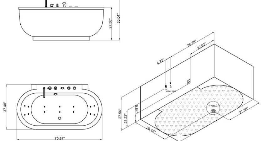 Bathtubs Idea Marvellous Jacuzzi Tub Standard