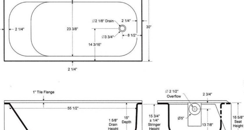 Bathtubs Idea Standard Tub Sizes Collection Stand