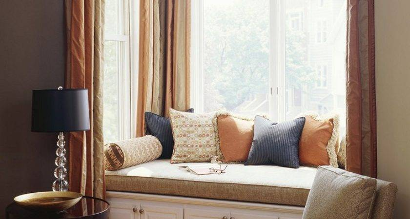 Bay Window Seat Comfortable Seating Area Home