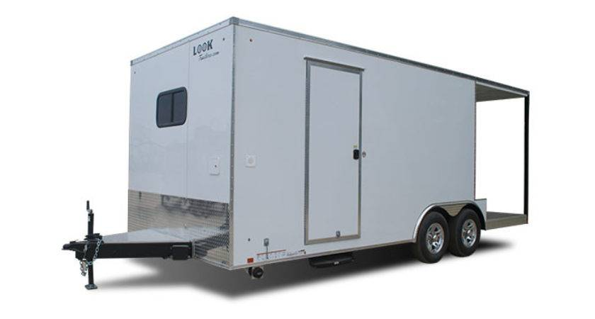 Bbq Porch Trailer Custom Vending Trailers Look