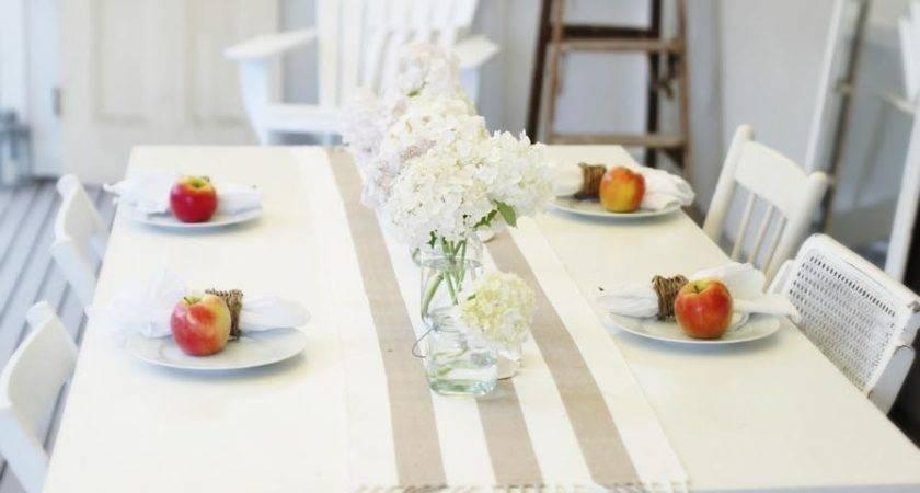 Beach Cottage Coastal Style Decor Table Life