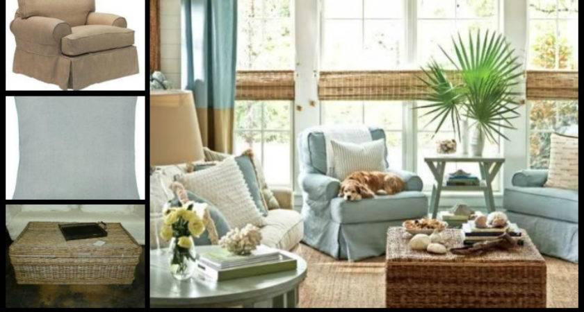 Beach Cottage Living Rooms Interior