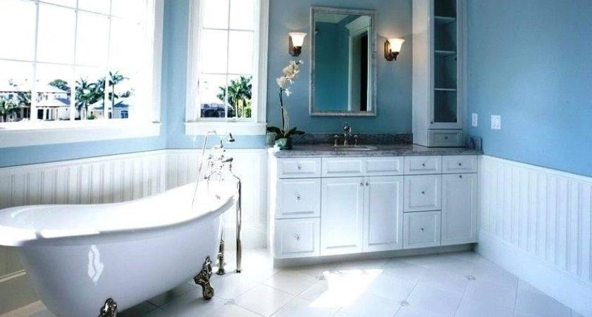 Beach Theme Bathroom Ideas Blue Themed