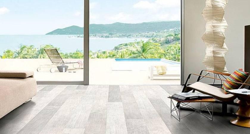 Beach Theme Laminate Flooring Wooden Home