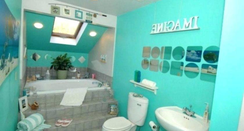 Beach Themed Bathroom Paint Colors Wonderful