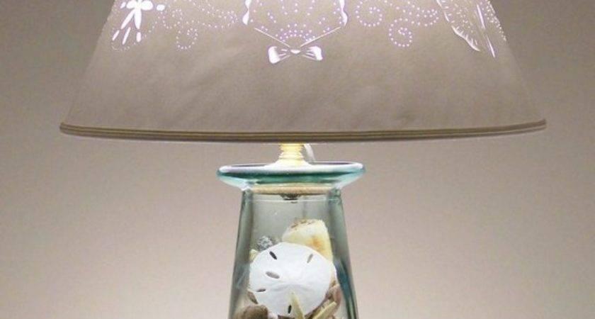 Beach Themed Lamp Shades Room