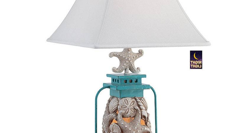 Beach Themed Lamps Home Combo
