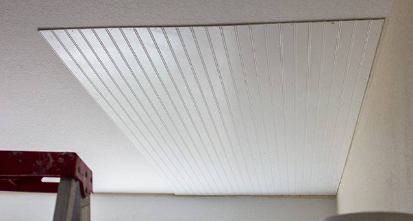 Beadboard Ceiling Diy Wainscoting