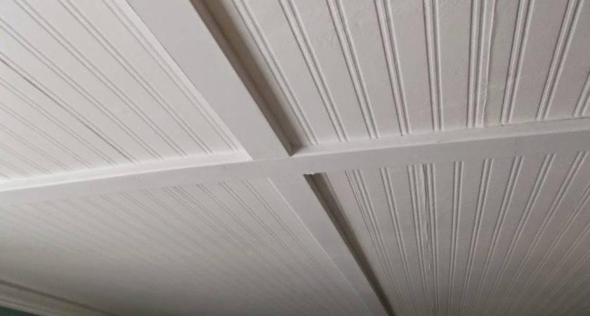 Beadboard Ceiling Panels