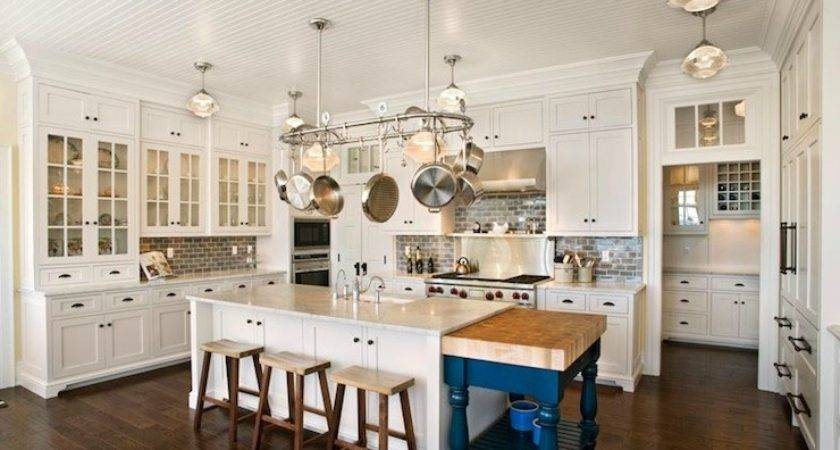 Beadboard Ceiling Traditional Kitchen Mitch Wise Design