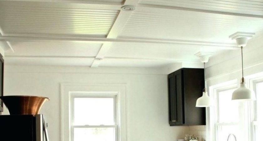 Beadboard Paneling Ceiling Porch Progress