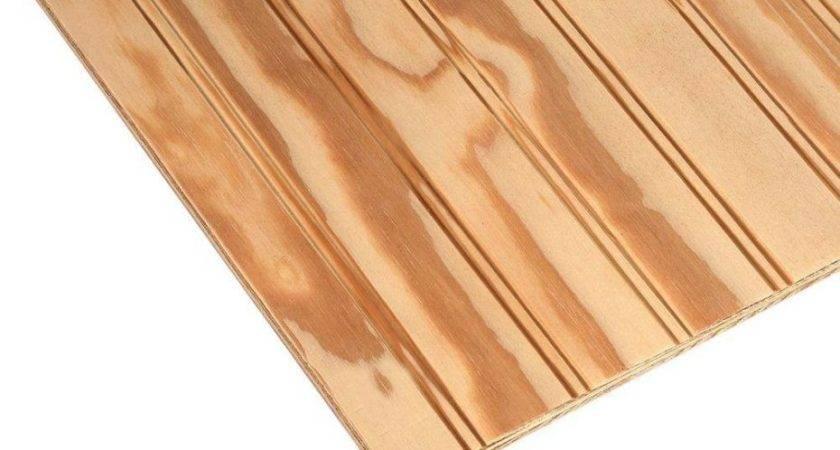 Beaded Plywood Ceiling Texnoklimat