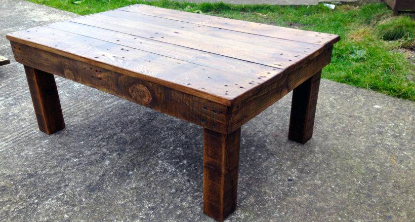 Bearwoodwork Make Coffee Table Reclaimed