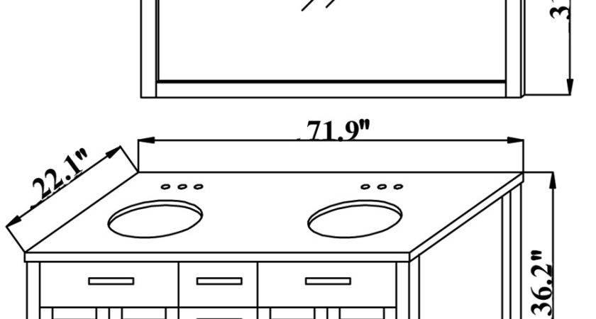 Beautiful Bathroom Vanities Measurements Eyagci