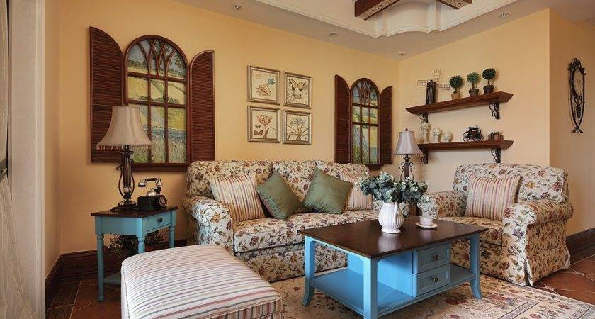 Beautiful Country Style Living Room Furniture Perfect