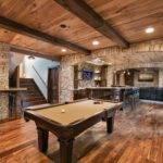 Beautiful Design Ideas Basements Low Ceilings