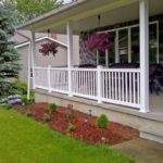 Beautiful Designs Front Porch Railing Decorating Ideas