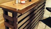 Beautiful Diy Pallet Indoor Bar Wine Rack Pallets