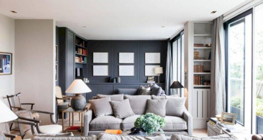 Beautiful Grey Living Room Decor Ideas Round