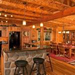 Beautiful Log Cabin Dining Rooms
