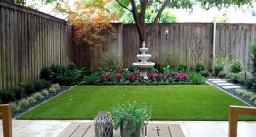Beautiful Minimalist Backyard Landscaping Design Ideas
