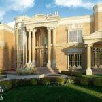 Beautiful Palace Exterior Residential Design