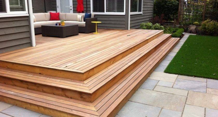 Beautiful Patio Deck Designs Ideas Stone Patios