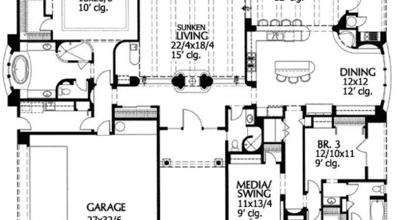 Beautiful Sunken Living Room Floor Master